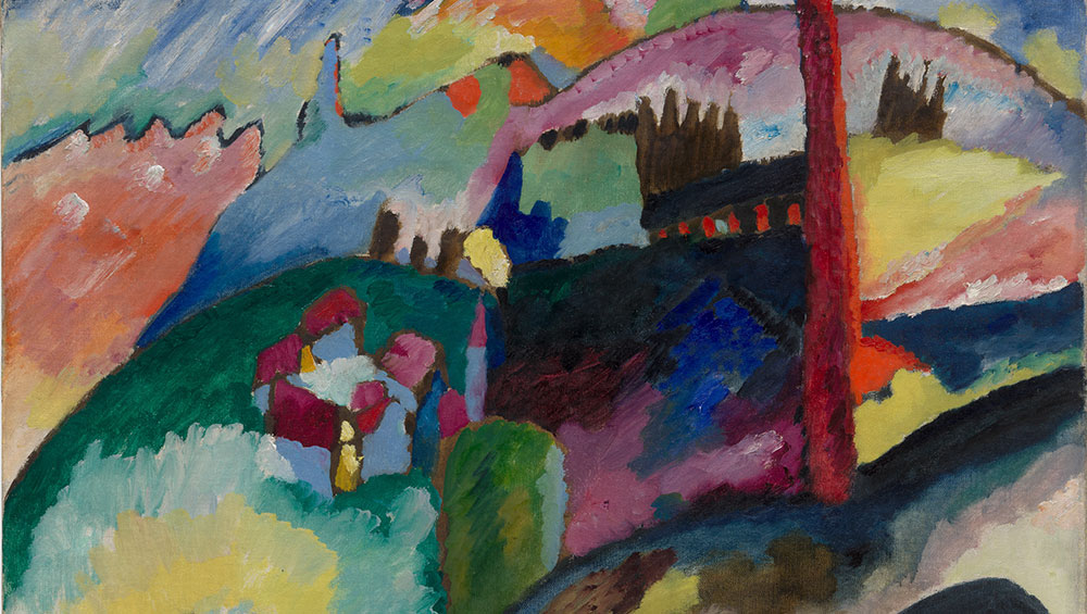 With 62 of Kandinsky's paintings and works on paper, this exhibition charts the development of his style as he attempted to free painting from its ties to the natural world