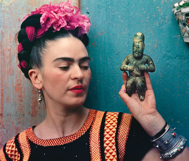 This exhibition offers a lesson in why you shouldn't feed popular morbid curiosity at the expense of respect for the person behind the legend. Nevertheless, Frida Kahlo's paintings still shine out from amid the costumes, prosthetics and pill packets