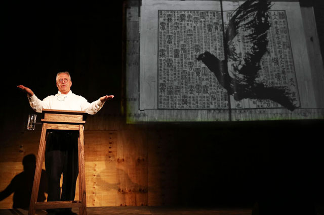William Kentridge, Ursonate, 2017. St Thomas the Apostle Church, Harlem, New York. Courtesy of Performa. Photograph © Paula Court.