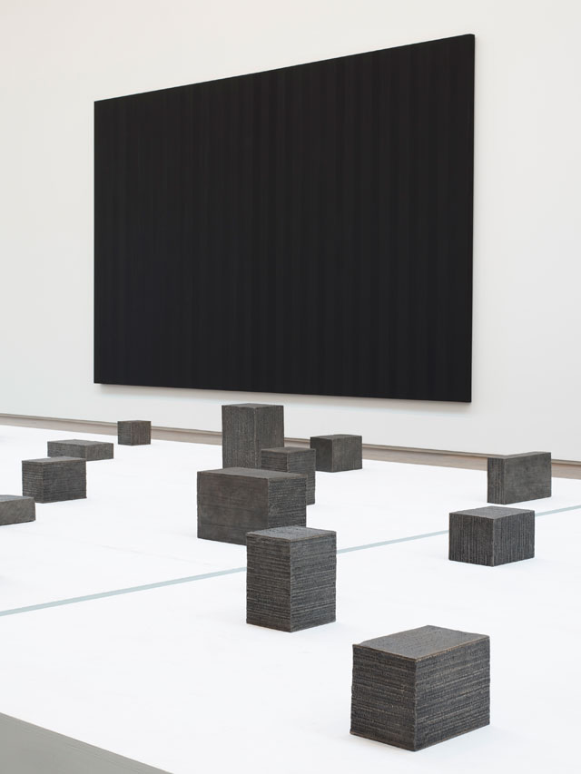 Idris Khan. Installation view, Idris Khan: Absorbing Light, Victoria Miro Gallery II, London, 2017. © Idris Khan. Courtesy the artist and Victoria Miro, London.