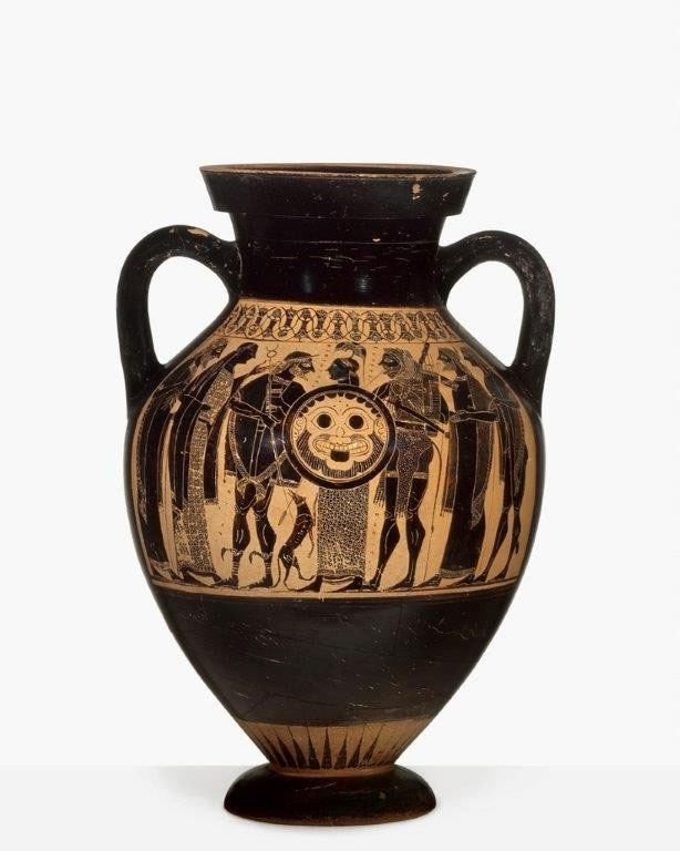 Amphora of the Phrynos Painter, around 550/540 BC. © Antikensammlung Basel and Sammlung Ludwig.
