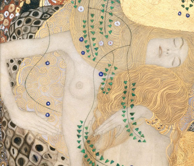 Bringing together works by Gustav Klimt with pottery, sculptures and texts from late classical antiquity, this insightful exhibition charts the influence of the ancient Attic artists on the Austrian secessionist, in particular in providing material for the development of his erotic drawings