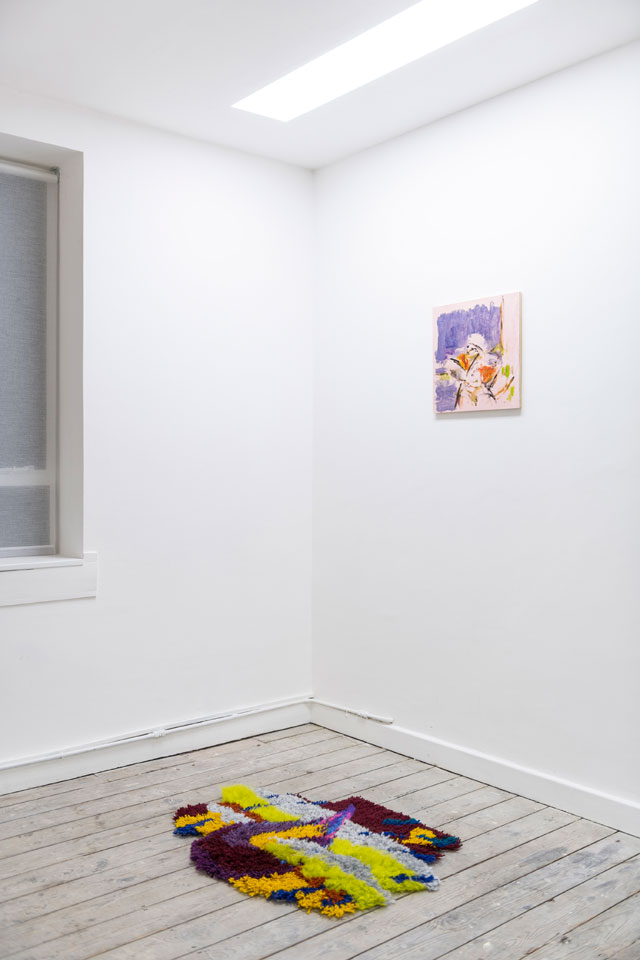 Interiority, 2018. Installation view,  Hunter/Whitfield, London.