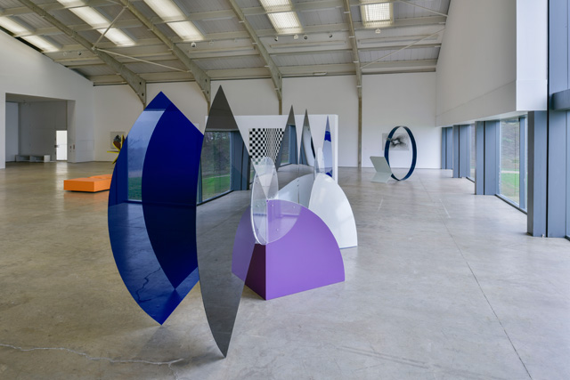 Kaleidoscope: Colour and Sequence in 1960s British Art, installation views at Longside Gallery, Yorkshire Sculpture Park. © artists and estates. Photograph: Jonty Wilde.