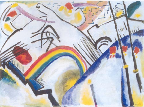 Wassily Kandinsky, <em>Cossacks, 1910-11</em>, Tate, London.
