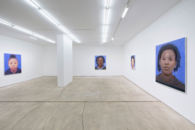 Installation view. Titus Kaphar: Shifting Skies. Jack Shainman Gallery, New York. December 16, 2016 - January 28, 2017. Courtesy of Jack Shainman Gallery, New York.