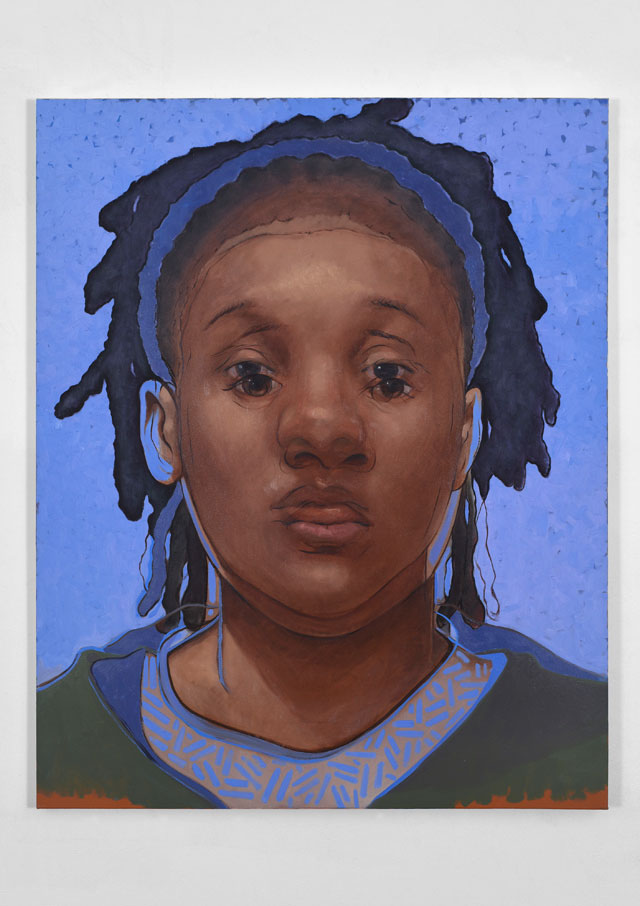 Titus Kaphar. Destiny II, 2016. Oil on canvas, 60 x 48 in. © Titus Kaphar. Courtesy of the artist and Jack Shainman Gallery.