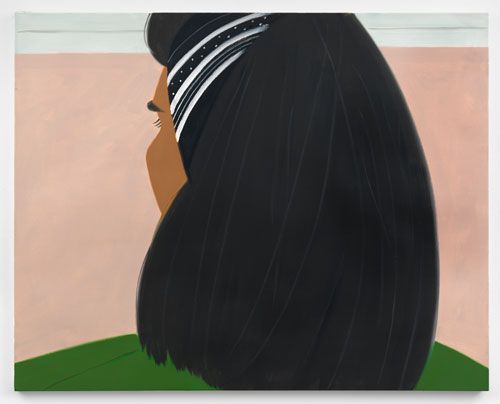 Alex Katz. Dusk 2, 1992. Oil on linen, 48 x 48 in (121.9 x 121.9 cm). © Alex Katz/Licensed by VAGA, New York, NY; Courtesy, Timothy Taylor Gallery, London.