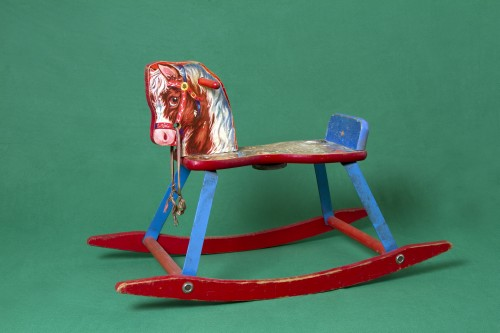 Kennedy Browne. The Wonder Years - Bill Gates Rockinghorse, 2013. 1950s era child's rocking horse. Courtesy the artists.