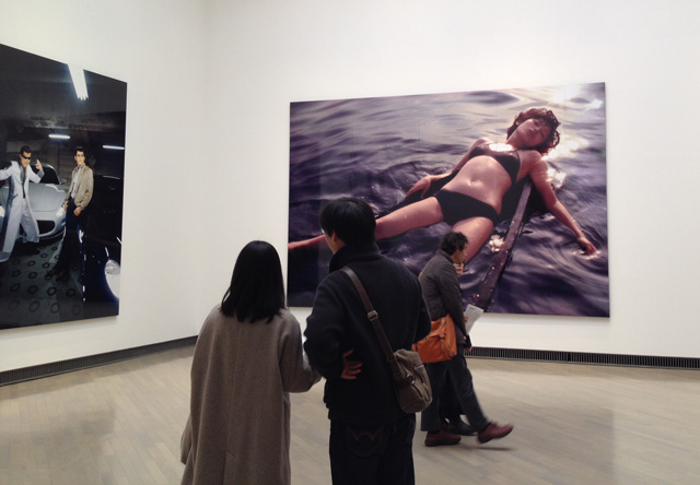 Kishin Shinoyama. Gallery view. Yokohama Museum of Art, Japan, 2017.