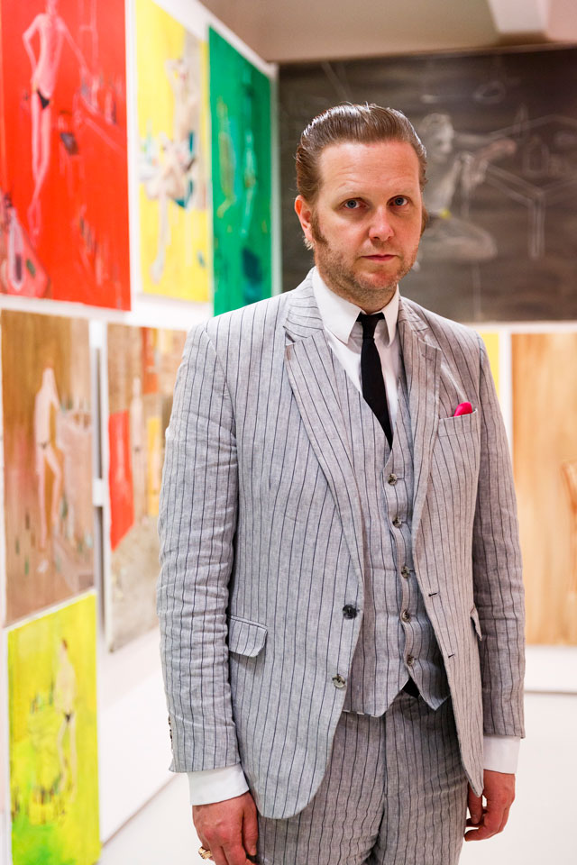 Ragnar Kjartansson. Barbican Art Gallery. © Tristan Fewings/Getty Images. Courtesy of the artist, Luhring Augustine New York and i8 gallery Reykjavik.