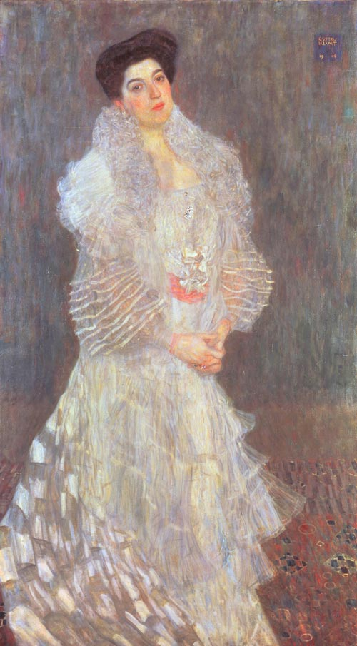Gustav Klimt. <em>Portrait of Hermine Gallia, </em>1904 &copy; The National Gallery, London