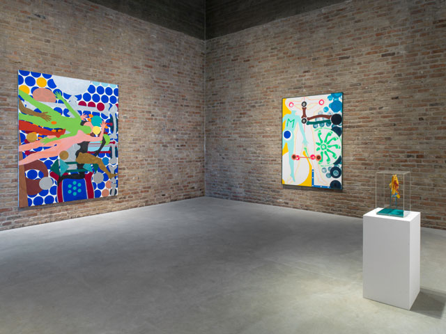 Kiki Kogelnik, installation view, König Galerie. Photographer: Roman März. Image courtesy of Kiki Kogelnik Foundation and König Galerie.