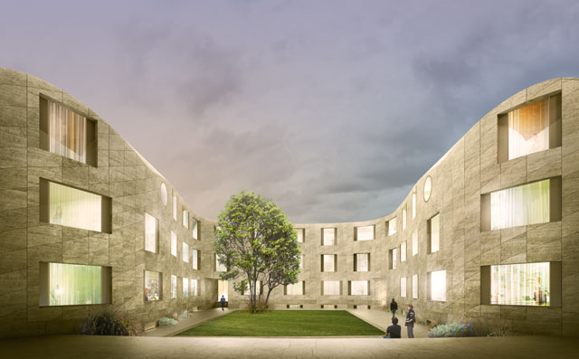 David Kohn. New College, Oxford, 2015 – ongoing. Visuals © David Kohn Architects.