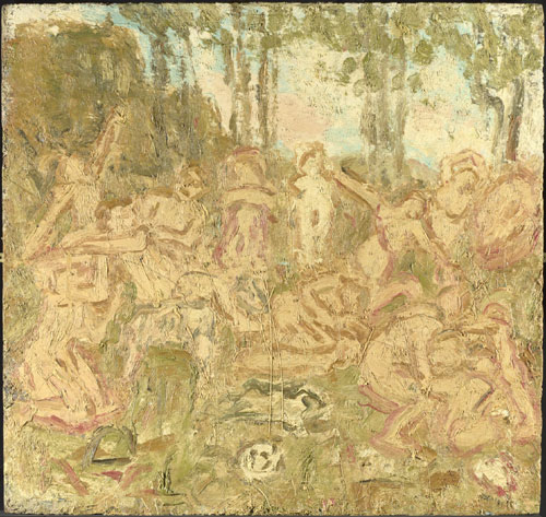 Leon Kossoff. <em>From Poussin: The Triumph of Pan</em>, 1998. Private collection &copy; Leon Kossoff