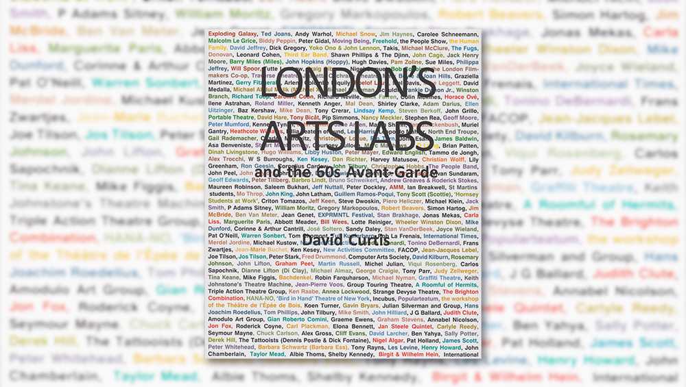 From a naked man flinging himself into a giant jelly to a 24-hour piano recital to John Lennon and Yoko Ono's first joint show, London's experimental art scene of the 1960s changed the face of art in the UK. David Curtis's book is a fascinating look at the counterculture and the artists who made it possible