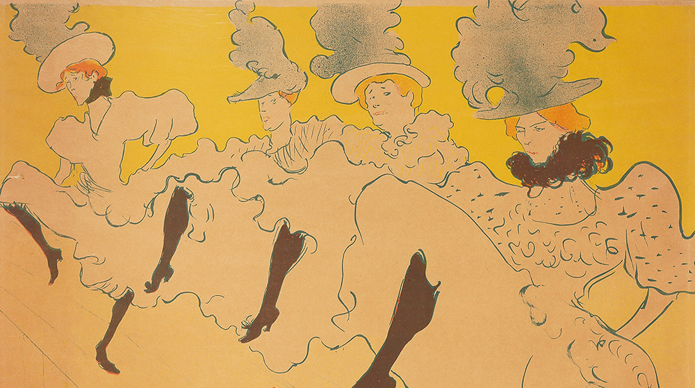 This fantastic exhibition of belle époque posters, by Parisian artists who used developments in colour lithography and the burgeoning advertising industry to create celebrity for themselves and the stars of cabaret and stage, is now online, delivering the joys of turn-of-the-century Montmartre to your living room