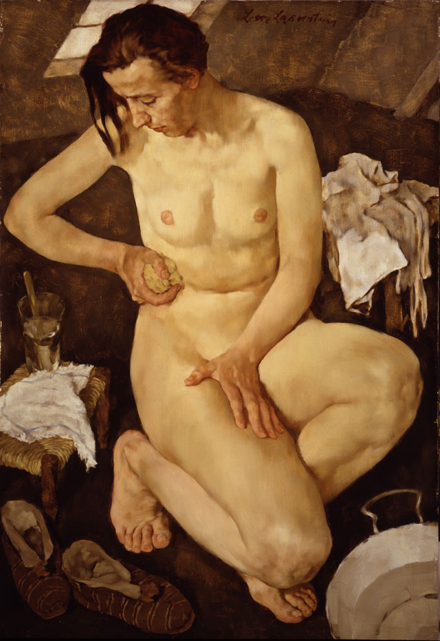 Lotte Laserstein. Morning Toilette, 1930. Oil on panel, 99.7 × 65.1 cm. National Museum of Women in the Arts, Washington, D.C., Gift of the Board of Directors. Photo: Lee Stalsworth. © VG Bild Kunst Bonn, 2018.