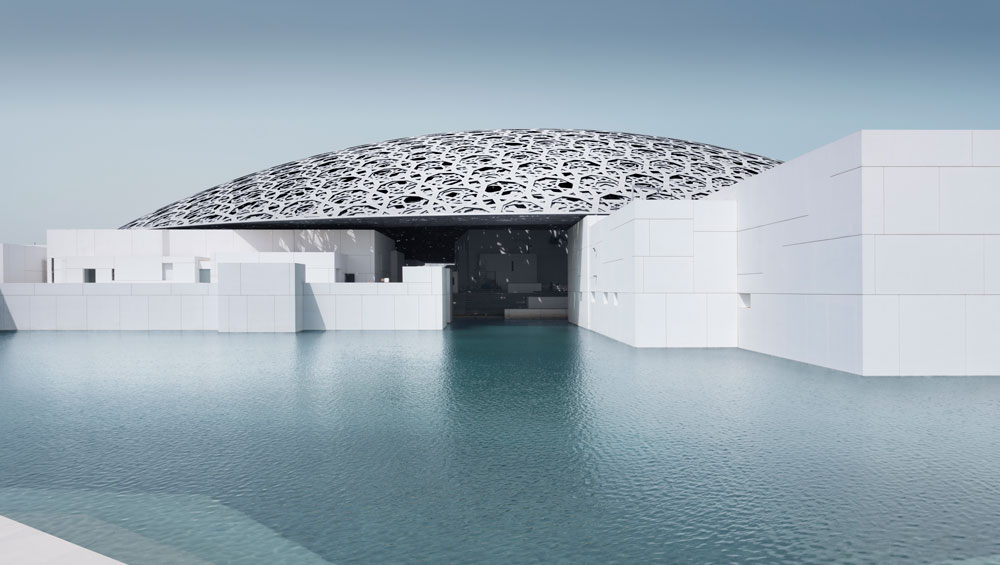 Jean Nouvel has conceived a masterful new structure for the Louvre Abu Dhabi, at once utterly modern in its technical and environmental specifications, but beautifully attuned to the ancient Arabic sense of place, and affinities with geometry and astronomy