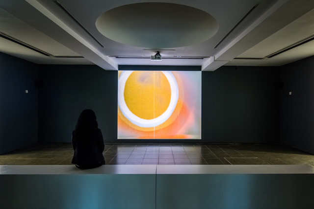 John Latham; Speak, 1962. Installation view, Serpentine Gallery, London (1 March 2017 – 21 May 2017). Photograph © Luke Hayes.