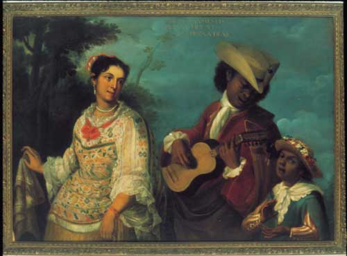 Attributed to Juan Rodriguez Ju&aacute;rez<i>. De mulatto y mestiza, 
