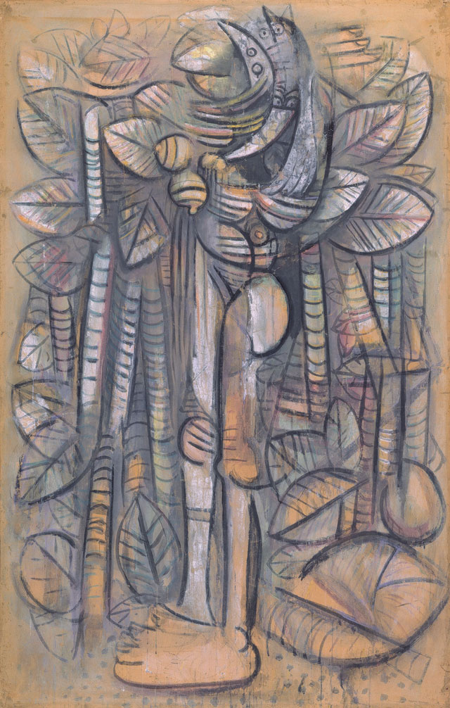 Wifredo Lam. Light of the Forest, 1942. Centre Pompidou, Musée National d'Art Moderne, MNAM-CCI. © SDO Wifredo Lam.