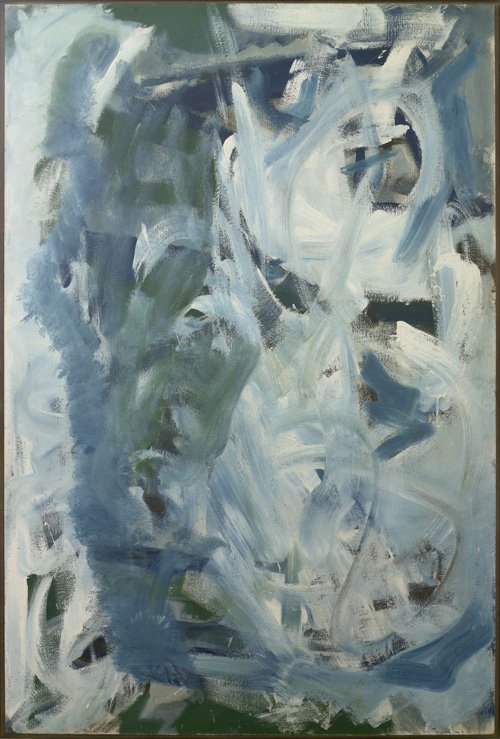 Peter Lanyon. High Wind, 1958. Oil on board, 72 x 48 in. Private collection.