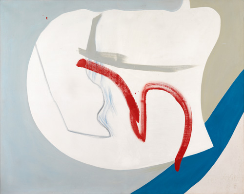 Peter Lanyon. Near Cloud, 1964. Oil on canvas, 48 x 60 in. Private collection.