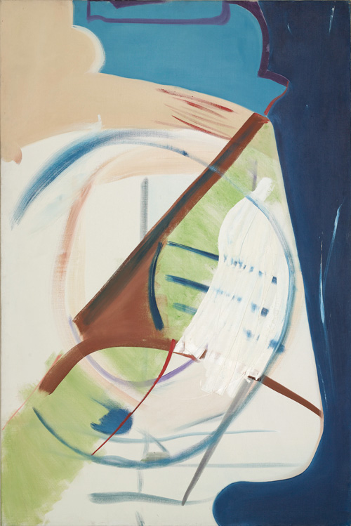 Peter Lanyon. North East, 1963. Oil on canvas, 72 x 48 in. Courtesy of Beaux Arts Gallery, London.