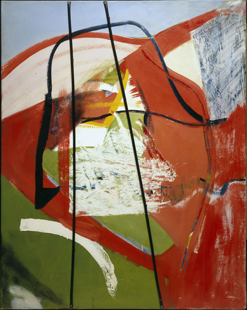 Peter Lanyon. Glide Path, 1964. Oil and plastic on canvas, 60 x 48 in. Courtesy of The Whitworth Art Gallery, University of Manchester.