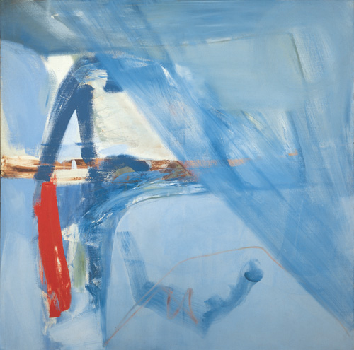 Peter Lanyon. Soaring Flight, 1960. Oil on canvas, 60 x 60 in. Courtesy of Arts Council Collection, Southbank Centre.