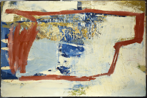 Peter Lanyon. Solo Flight, 1960. Oil on board, 48 x 72 in. Courtesy of Scottish National Gallery of Modern Art, Edinburgh.