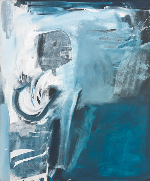 Peter Lanyon. Thermal, 1960. Oil on canvas, 72 x 60 in. Courtesy of The Tate Gallery.