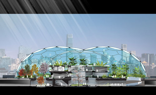 Section of Future Home. Laboratory for Visionary Architecture (LAVA) Asia Pacific. <em>Home of the Future</em>, 2011.