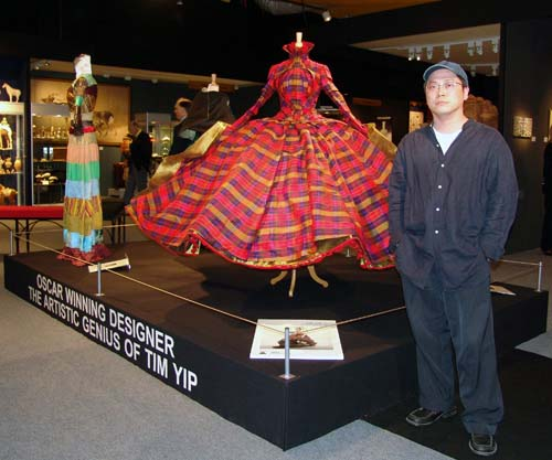 Oscar Award-winning Chinese designer Tim Yip, Photo by Miguel Angel