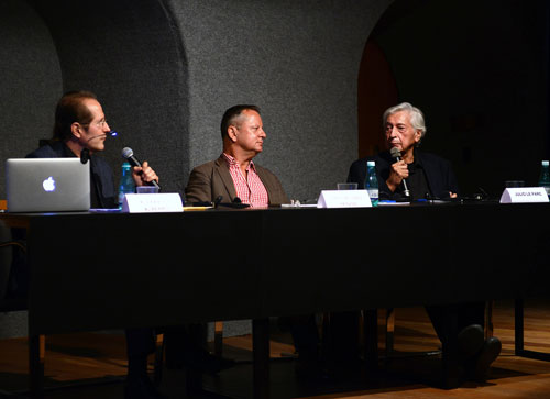 Meridianos Project - Round Table with Alexander Alberro, Hans-Michael Herzog and Julio Le Parc at Casa Daros.