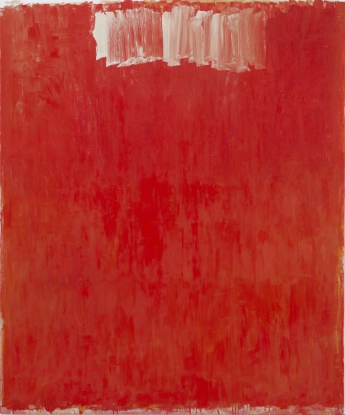 Christopher Le Brun. Choir, 2013. Oil on canvas, 59.06 x 49.21 in (150 x 125 cm). Courtesy of Friedman Benda and the Artist. Photograph: Stephen White.