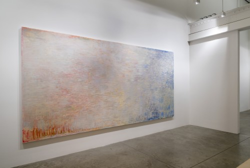 Christopher Le Brun. Installation view. Neither White, nor Warm nor Cold, 2013. Courtesy of Friedman Benda and Christopher Le Brun. Photograph: Adam Reich.