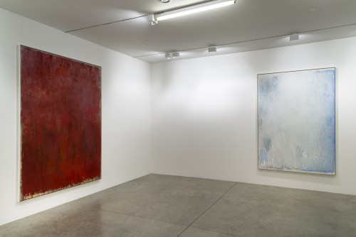 Christopher Le Brun. Installation view. Walton and Numeral, 2013. Courtesy of Friedman Benda and Christopher Le Brun. Photograph: Adam Reich.