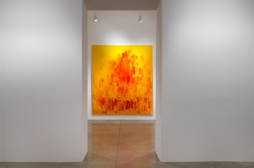 Christopher Le Brun. Installation view. Enter the City, 2014. Courtesy of Friedman Benda and Christopher Le Brun. Photograph: Adam Reich.