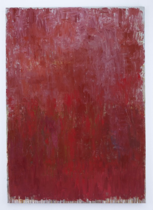 Christopher Le Brun. Walton, 2013. Oil on canvas, 94.49 x 66.93 in (20 x 170 cm). Courtesy of Friedman Benda and the Artist. Photograph: Stephen White.