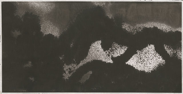 Li Huasheng. 1363. 2013. Ink on paper, 27 1/8 x 53 ¾ in (69 x 136.5 cm). Image courtesy Mayor Gallery.