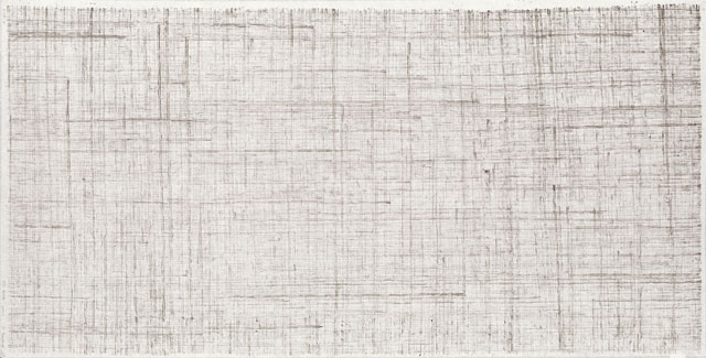 Li Huasheng. 1391. 2013. Ink on paper, 54 ½ x 27 ½ in (138.5 x 70 cm). Image courtesy Mayor Gallery.