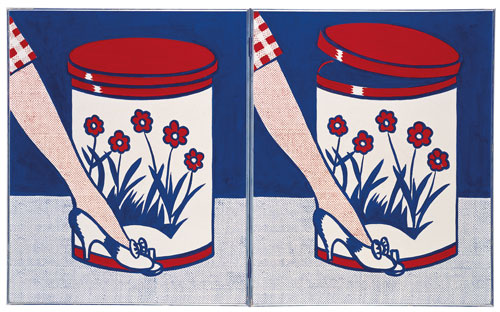 Roy Lichtenstein.