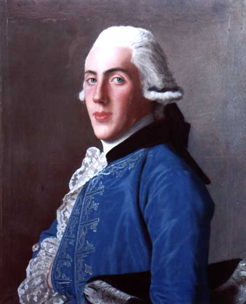 The Portrait of James Milliken of Milliken by Jean-Etienne Liotard, c.1753