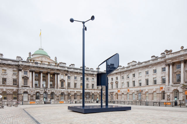 Forecast, a kinetic installation at Somerset House, London, by east London-based design duo Edward Barber and Jay Osgerby.