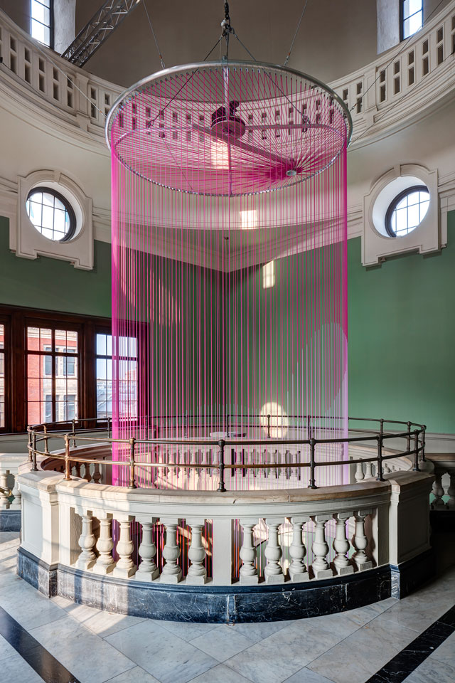 The Green Room, Victoria & Albert Museum. Glithero, British designer Tim Simpson and Dutch designer Sarah van Gameren.