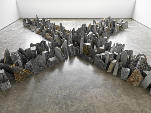 Richard Long. Installation view (1). Lisson Gallery, London, 23 May – 12 July. Courtesy the artist and Lisson Gallery.