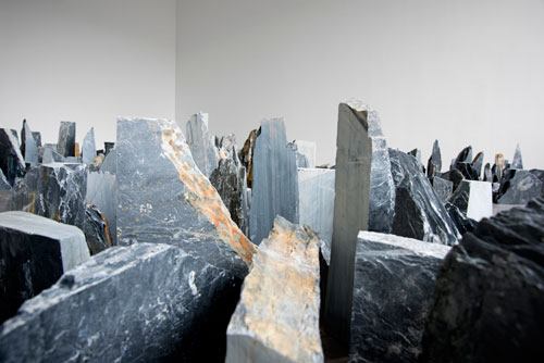 Richard Long. Installation view (2). Lisson Gallery, London, 23 May – 12 July. Courtesy the artist and Lisson Gallery.