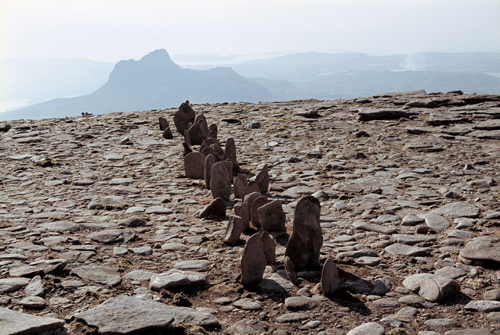 Richard Long. <em>A Line in Scotland</em>, 1981. © Copyright the artist
